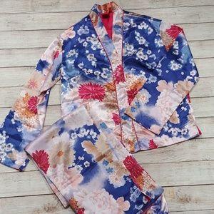Anne Klein Floral Pajama Set